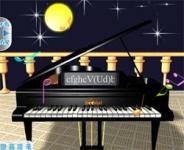 夜色下的钢琴独奏